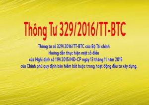 Tài liệu: Giới thiệu về thông tư 329/2016/TT-BTC