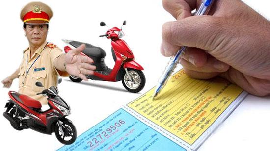 Tại sao đã có bảo hiểm xe máy nhưng vẫn bị phạt?
