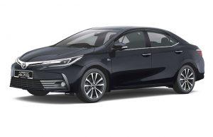 Bảo hiểm VCX ô tô cho xe ô tô Toyota Corolla Altis