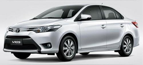 Bảo hiểm VCX ô tô cho xe ô tô Toyota Vios