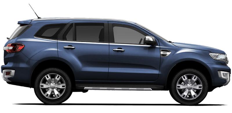 Bảo hiểm VCX ô tô Ford Everest