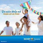 Du xuân khắp nơi, yên tâm, an toàn cùng bảo hiểm du lịch của Bảo Việt