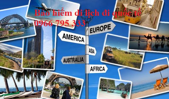 Bảo hiểm du lịch đi quốc tế
