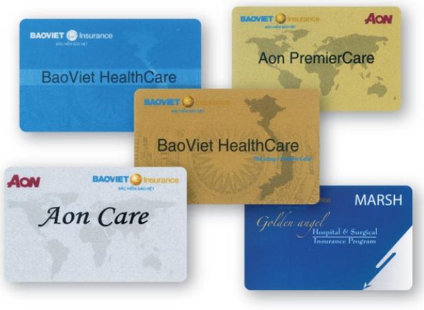 các loại thẻ bảo hiểm Bảo Việt