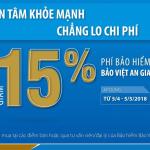 Giảm phí lên đến 15% khi tham gia tại ibaoviet.vn