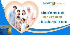 Quyền lợi bảo hiểm gói Kim Cương của Bảo Việt An Gia