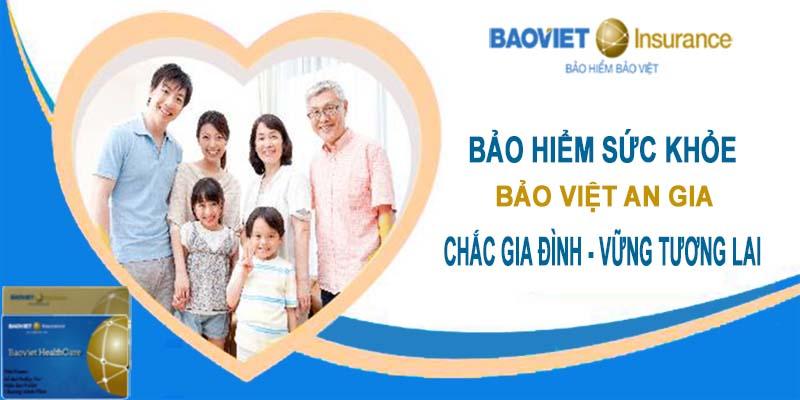 bảo hiểm gói Kim Cương của Bảo Việt An Gia