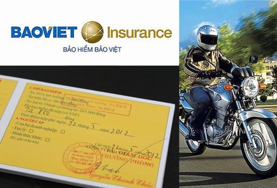 mua bảo hiểm xe máy Bảo Việt