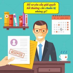 Hướng dẫn hồ sơ yêu cầu giải quyết quyền lợi bảo hiểm